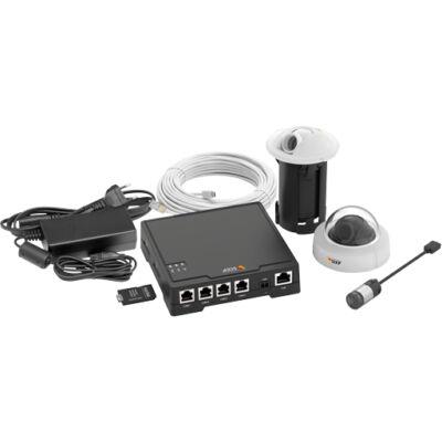 Axis F34 Surveillance System - HDTV 720p,Sensor unit - microSDXC 64GB