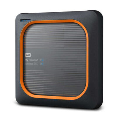 """WD My Passport Wireless SSD 2TB - Solid State Disk - 2.5"""""""