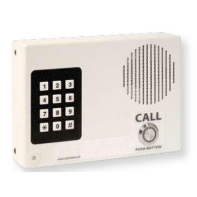 CyberData VoIP Intercom w/Keypad? Flush Mount Standard Col - VoIP Indoor Intercom with Keypad - Signal White