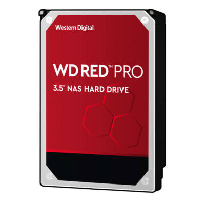 WD Drive server WD Red Pro WD121KFBX 12 TB 12 TB 3.5 Inch SATA III 256 MB 7200 - Hdd - Serial ATA