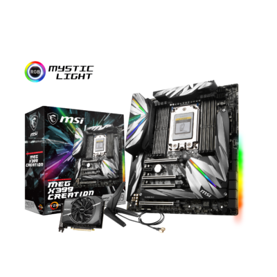 MSI MEG X399 Creation - Motherboard - AMD Sockel TR4 (Threadripper)