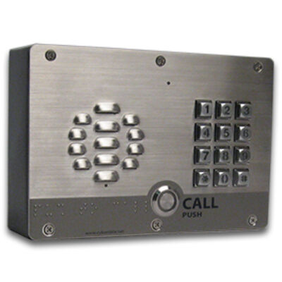 CyberData IP Intercoms - SIP Outdoor Intercom with Keypad - Outdoor Intercom w/Keypad - 2-Way