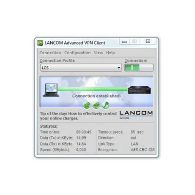 Lancom Advanced VPN Client (Windows) - Windows 10 - Windows 8.1 - Windows 8 - Windows 7 - Windows Vista
