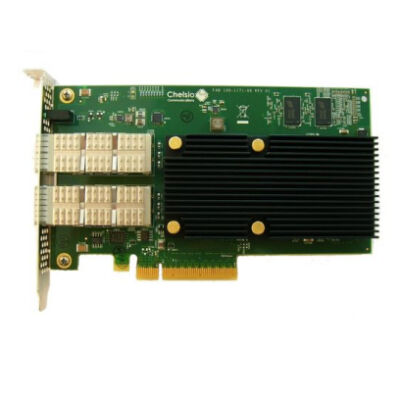 Chelsio Dualport Netzwerkkarte PCIe 40Gbit T580-CR - Ultra High Performance