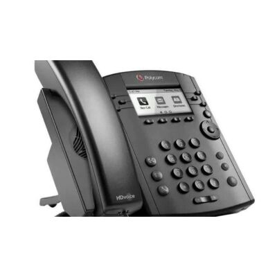 2200-46135-025 Polycom VVX 300 Wired handset 6lines LCD Black  Polycom VVX 300, Fast Ethernet, PoE