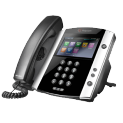 2200-46162-025 Polycom VVX 410 Wired handset 12lines LCD Wi-Fi Black IP phone