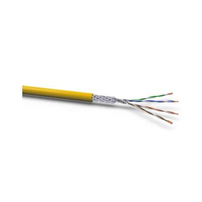 VOKA 1200MHz Kabel CAT7a Halo S-STP S/FTP XLAN Duplex 500m Trommel Gelb Dca - Cable - CAT 7a