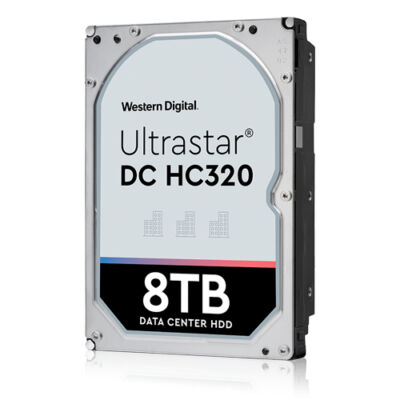 HGST HUS728T8TAL5204 - Ultrastar DC HC320 8TB SAS 3.5 - HDD - soros csatolt SCSI (SAS)