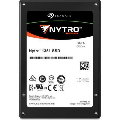 Seagate Nytro 1351 SSD 960GB SATA 1 DWPD - Solid State Disk - Serial ATA