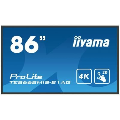 "iiyama 86 "" TE8668MIS-B1AG Interactive Display TE8668MIS-B1AG"
