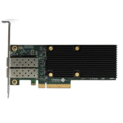 Chelsio Dualport Netzwerkkarte PCIe 10GBit T520-LL-CR - High Performance