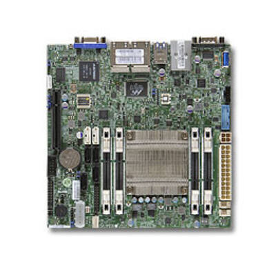 Supermicro A1SRi-2758F Mini-ITX Atom Mainboard - Motherboard - Intel Slot 1/242 (P2/P3)