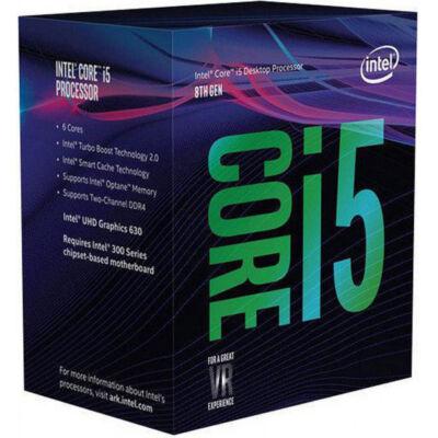 Intel Core i5 8600K 3,6 GHz-es Coffee Lak - Core i5 - 3,6 GHz