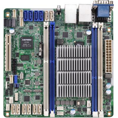ASRock C2750D4I SoC So.BGA Dual Channel DDR3 Mini-ITX Bulk - Intel Avoton C2750 Octa-Core - DDR3 1600/1333