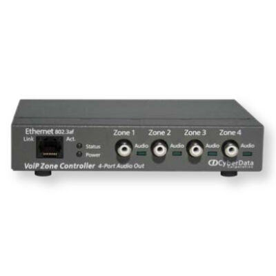 CyberData IP to Analog - SIP Paging Zone Controller 4 Port