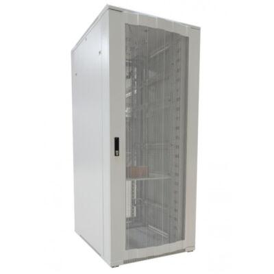 """ALLNET 19"""" Schrank 32HE B800 T1000mm*lichtgrau* perforierte Türen"""