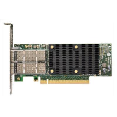Chelsio Dualport Netzwerkkarte PCIe 100Gbit T62100-LP-CR - High Performance - Low Profile