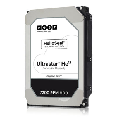 "HGST WD Ultrastar DC HC520 HUH721212AL5200 - - 12 TB - interno - 3.5"" - SAS 12Gb/s - Hdd - Serial Attached SCSI (SAS)"