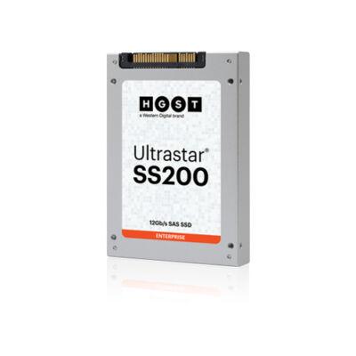 HGST SSD 960GB 2.5 Ultrastar SS200 SDLL1DLR-960G-CCA1 SAS - Szilárdtestalapú lemez - Soros csatolt SCSI (SAS)