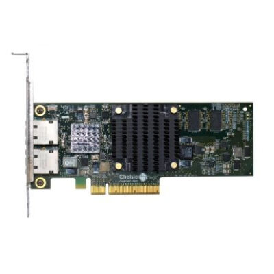 Chelsio Dualport Netzwerkkarte PCIe 10Gbit T520-BT - High Performance