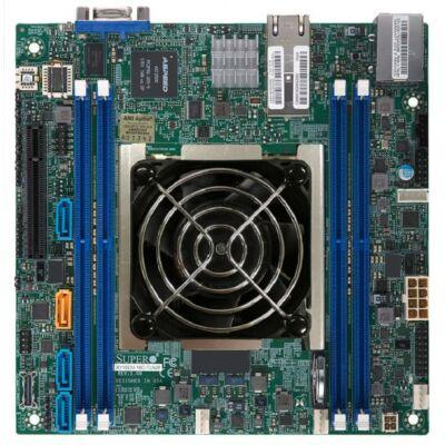 Supermicro Mainboard X11SDV-8C + -TLN2F Single - Alaplap - ATX