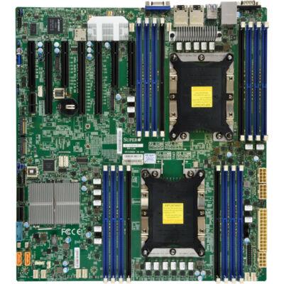 Supermicro X11 DP Skylake 16DIMM DDR4 4 PCI-E 3.0x8 - Motherboard - Intel Socket 3647 (Xeon Phi)