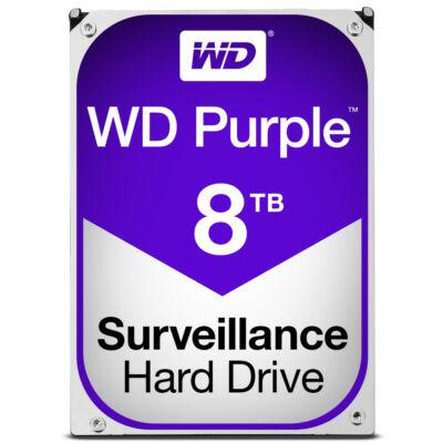 """WD Purple Surveillance Hard Drive WD80PUZX 3.5"""" SATA 8,000 GB - Hdd - 5,400 rpm - Internal"""