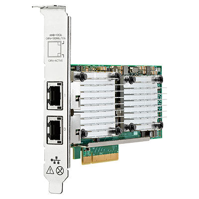 HP Enterprise Ethernet 10Gb 2-port 530T - Internal - Wired - PCI Express - Ethernet - 10000 Mbit/s