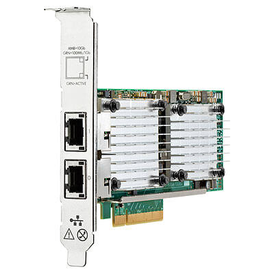 HP Enterprise Ethernet 10Gb 2 portos 530T - Belső - Vezetékes - PCI Express - Ethernet - 10000 Mbit / s