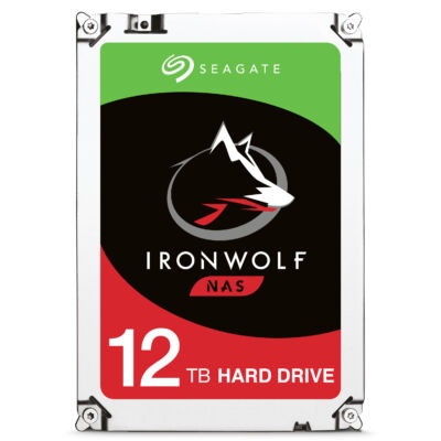 Seagate IronWolf ST12000VN0007 Festplatte 12 TB - Hdd - Serial ATA
