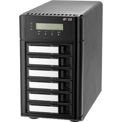 Areca Thunderbolt 3 zu 12G SAS 6x Raidtower ARC-8050T3-6 - Desktop 6-Bay - 6 x 12Gb/s SAS