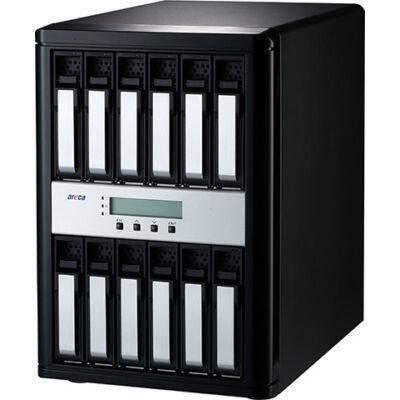Areca Thunderbolt 3 zu 12G SAS 12x Raidtower ARC-8050T3-12 - Desktop 12-Bay - 12 x 12Gb/s SAS