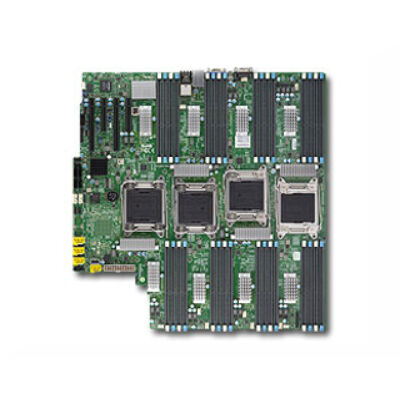 Supermicro Mainboard X10QBL Bulk - Motherboard - Intel Socket R/2011 (Xeon MP)