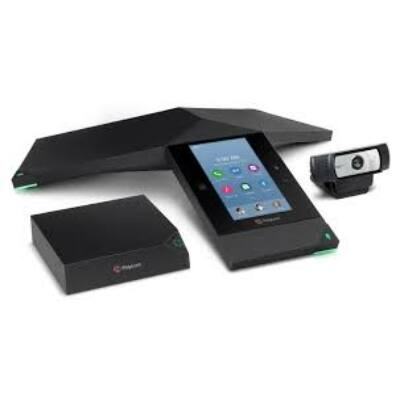 7200-23450-001 Polycom RealPresence Trio 8800 Collaboration Kit     Video conferencing kit with Trio Visual+ Logitech C930e and 1 year Partner Premier