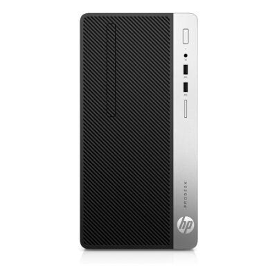 HP ProDesk 400 G5 - Komplettsystem - Core i3 3,6 GHz - RAM: 8 GB DDR4 - HDD: 256 GB NVMe - UHD Graphics 600