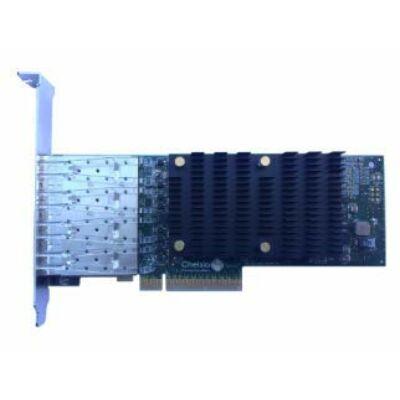 Chelsio Quadport U-Wire Adapter PCIe 10Gbit T540-LP-CR