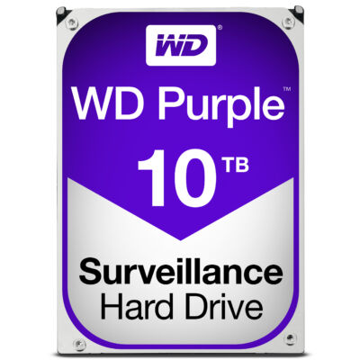 "WD Purple Surveillance Hard Drive WD100PURZ 3.5"" SATA 10,000 GB - Hdd - 5,400 rpm - Internal"