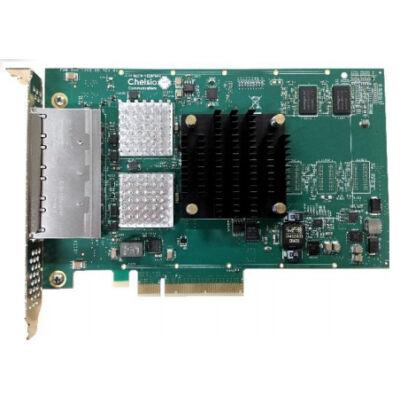 Chelsio Quadport Netzwerkkarte PCIe 10Gbit T540-BT - High Performance