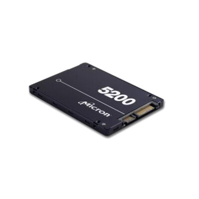 "Micron 5200 Eco - Solid-State-Disk - 3.84 TB - intern - 2.5"" 6.4 cm - SATA - Solid State Disk - Serial ATA"