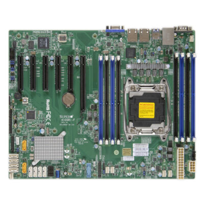 Supermicro 2011 S X10SRi-F - Motherboard - Intel Socket R/2011 (Xeon MP)