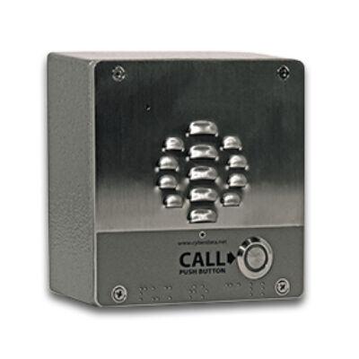 CyberData Systems V3 SIP-enabled IP - FCC A - UL 60950 IP64 - Grau - 127 x 63,5 x 127 mm