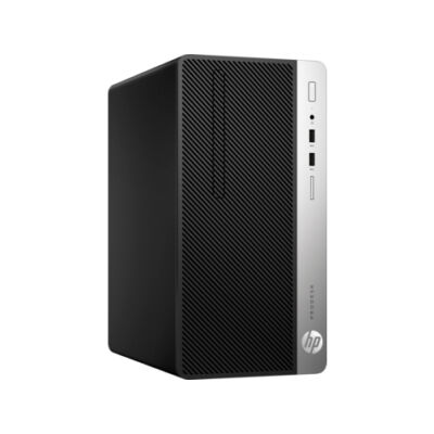HP ProDesk 400 G5 - Komplettsystem - Core i3 3,7 GHz - RAM: 8 GB DDR4 - HDD: 256 GB NVMe - UHD Graphics 600