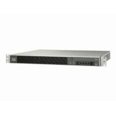 ASA 5515-X Firewall Edition; includes firewall services, 250 IPsec VPN peers, 2 SSL VPN peers, 6 copper GE data ports, 1 copper GE management port, 1 AC power supply, 3DES/AES encryption Cisco ASA5515-K9