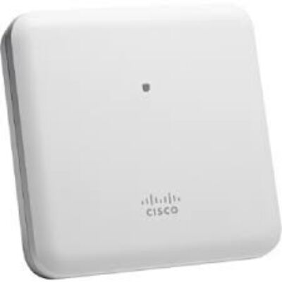 Cisco 2800i Power over Ethernet (PoE) White Indoor, Dual-Band, Controller-Based 802.11a/g/n/ac, 2 x 100/1000BASE-T RJ-45, 1 x Console RJ-45, Internal Antennas  AIR-AP2802I-E-K9