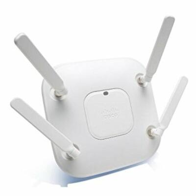 AIR-CAP3602E-E-K9 Cisco 2.4GHz/5GHz, 450Mb/s, 802.11a/g/n, Gigabit Ethernet, 1.13kg, E, White