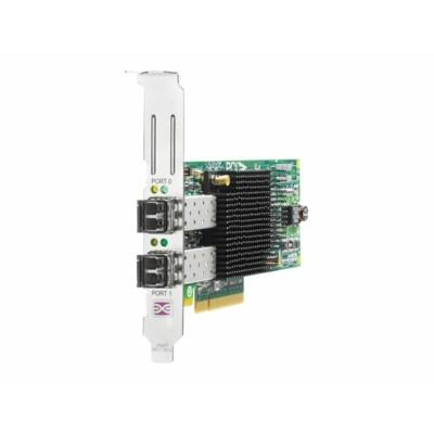 HP 82E 8Gb Dual-port PCI-e FC HBA 82E, PCIe, 8Gb, 2x Fibre Channel  AJ763B