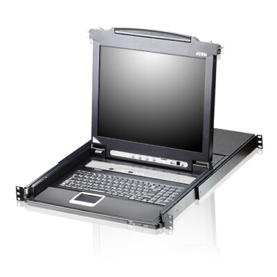 CL5708N-ATA-2XK06A1G ATEN Slideaway CL5708N - KVM console with KVM switch