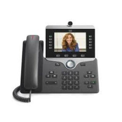CP-8865-K9 Cisco IP Phone 8865, 800 x 480 pixels, G.711,G.722,G.729A,iLBC, H.264, 1280 x 720 pixels, Gigabit Ethernet, 4.1 LE
