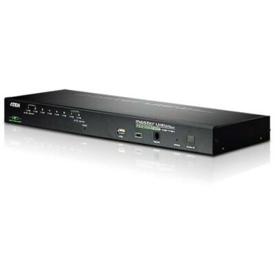 Aten CS1708I 8-Port USB - PS/2 VGA KVM Over IP Switch with USB Peripheral port  CS1708i