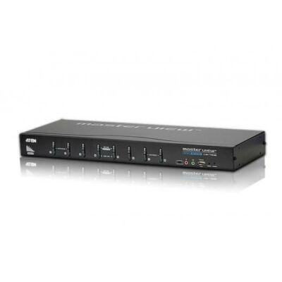 Aten CS1768 KVM switch 8-Port USB DVI KVM Switch with Audio  Aten CS1768, USB, USB, DVI-I, 2048 x 1536 pixels, 1920 x 1200 pixels, 2048 x 1536 pixels CS1768